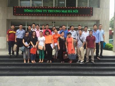 Khóa học k35 thực tế tại Hapro Building ngày 7/8/2016