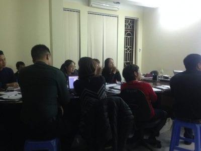 Khóa học vận hành chung cư tại Công ty bảo vệ Thịnh An