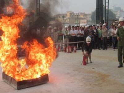 Lớp nghiệp vụ xăng dầu, phòng cháy chữa cháy
