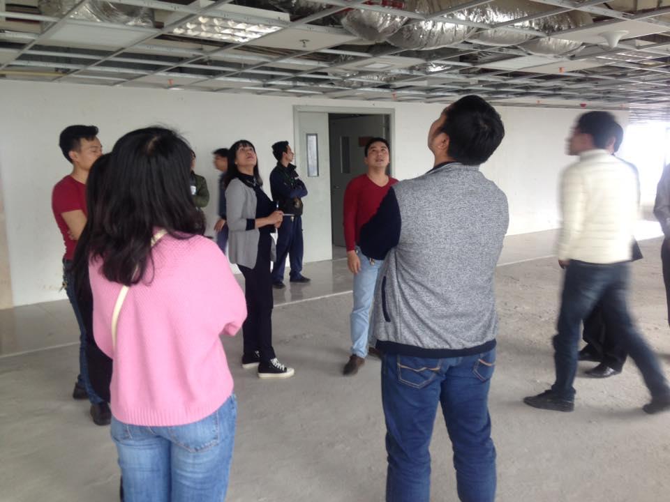 Khóa học vận hành chung cư ở tòa nhà Nam Cường, Hà Đông
