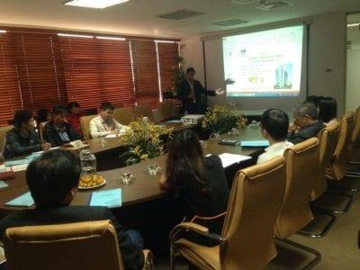 Khai giảng khóa học vận hành chung cư của công ty Tài chính Thăng Long