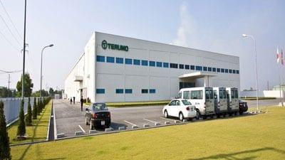 Lớp vận hành xe nâng tại công ty TNHH Terumo VN