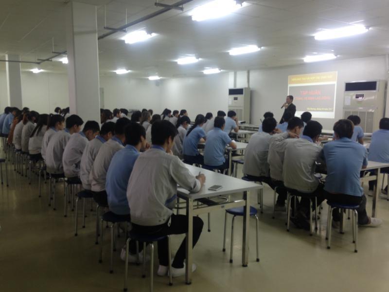 Khóa huấn luyện ATLĐ – VSLĐ tại Công ty Cổ phần Chemilens Việt Nam