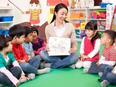 Lớp cô nuôi dạy trẻ mầm non