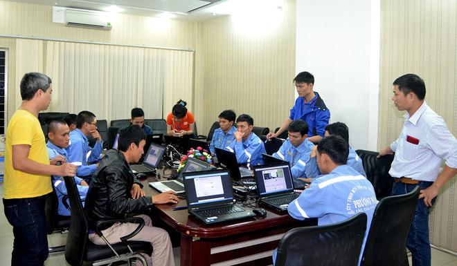 TIEC tổ chức huấn luyện tại công ty CP Dịch Vụ Kỹ thuật Viễn Thông Hà Nội