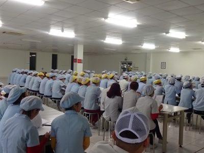 Khóa huấn luyện ATLD – VSLD tại Công ty TNHH Quốc Tế Jaguar Hà Nội