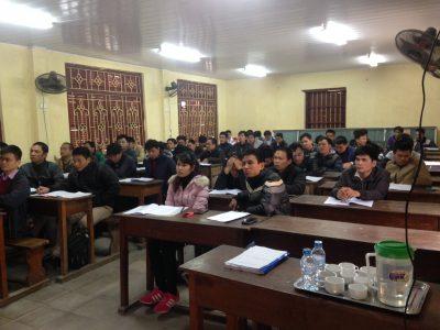 Khai giảng lớp Giảng Viên Nguồn ATLĐ – VSLĐ