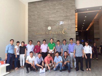 Khóa học thực tế quản lý vận hành nhà chung cư tại Golden Palace