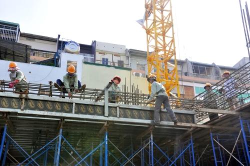 An toàn lao động cho công nhân xây dựng