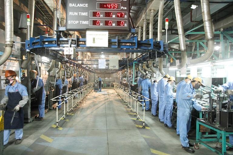 An toàn lao động trong các nhà máy sản xuất cơ khí
