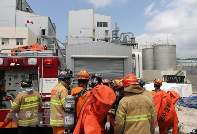 an toàn lao động tại các nhà máy hóa chất