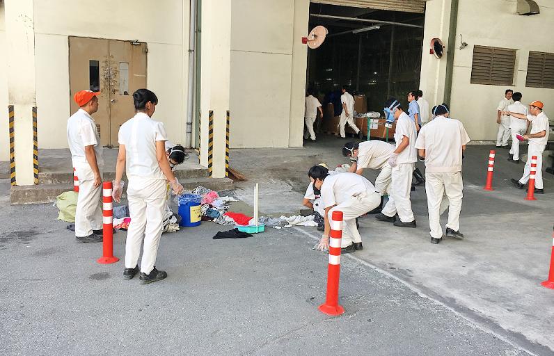 An toàn lao động hóa chất - Diễn tập tràn đổ hóa chất