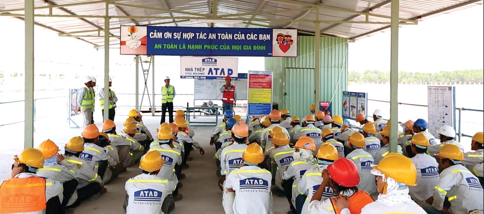 Huấn luyện an toàn lao động - nâng cao nhận thức an toàn cho người lao động