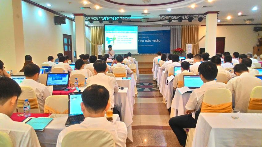 Các nội dung của khóa học đấu thầu tại viện đào tạo hợp tác và giáo dục