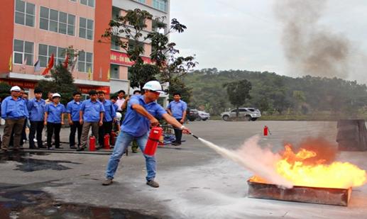An toàn cháy nổ trong không gian làm việc