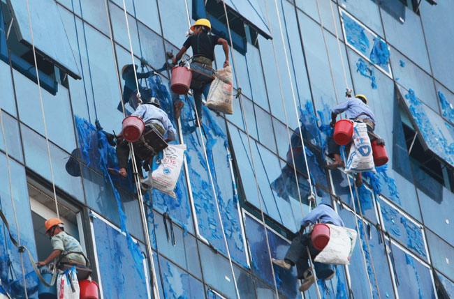 huấn luyện an toàn khi làm việc trên cao